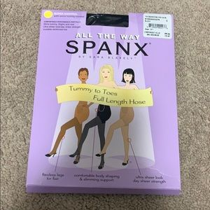 BN in package Spanx full length tights pantyhose
